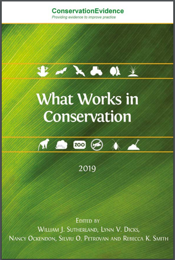 What works in Conservation?
